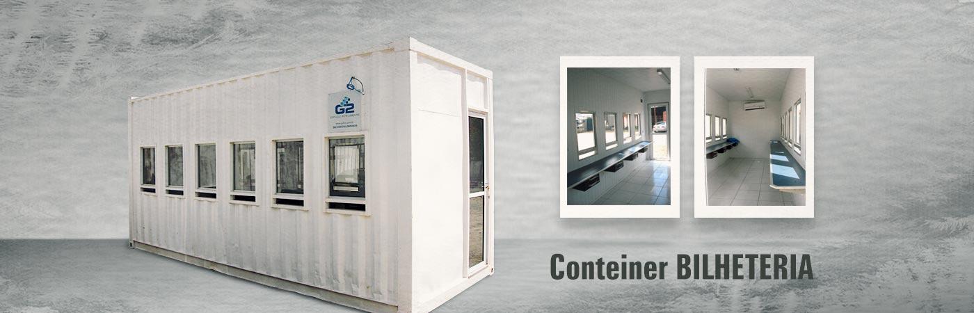 Container G2 Loc BIlheteria